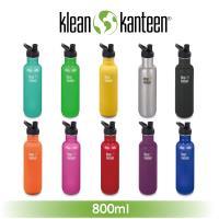 [ 美國Klean Kanteen ] 窄口不鏽鋼水瓶-800ml