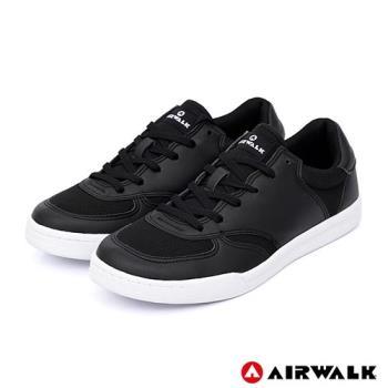 【AIRWALK】輕騎兵休閒滑板鞋(男)-黑色