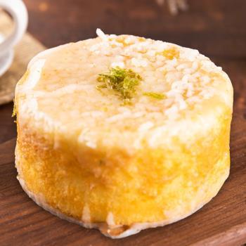 樂活e棧-生日快樂造型蛋糕-檸檬糖霜蛋糕(320g/顆)