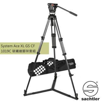 沙雀 Sachtler 1019C Ace XL GS CF 錄影油壓 碳纖維三腳架套組-公司貨