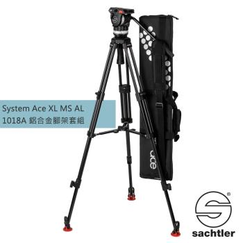 沙雀 Sachtler 1018A Ace XL MS AL 錄影油壓 三腳架套組-公司貨