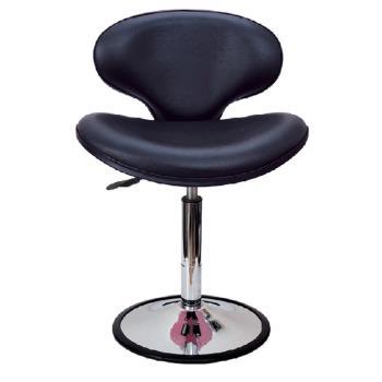 傢俱屋 愛米特吧台椅 黑皮*紅皮*低