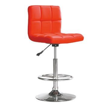 傢俱屋 金尼吧台椅 紅皮 白皮 淺褐皮 黑皮