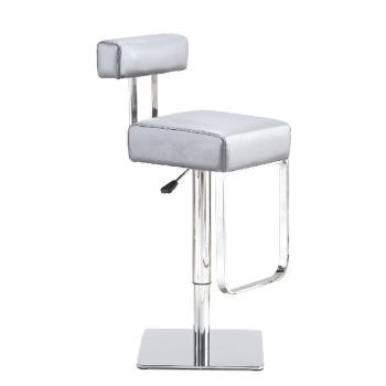 傢俱屋 迪貝吧台椅 黑皮 銀色皮 咖啡皮