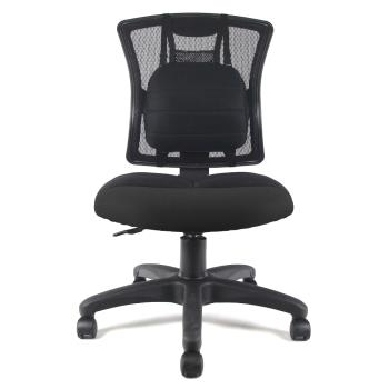 DR. AIR 人體工學氣墊腰靠椅墊透氣辦公網椅-三色可選