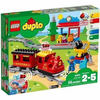 LEGO樂高積木 - Duplo 得寶系列 - 蒸汽列車 10874