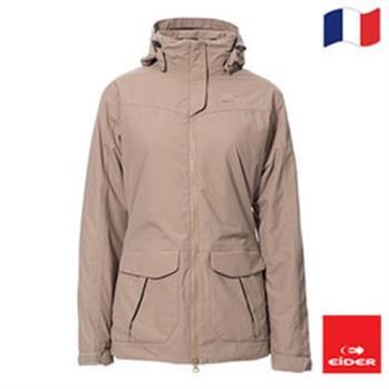 法國【EiDER】 女防水透氣保暖多功能附帽外套/共3色