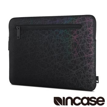 【Incase】Compact Sleeve in Reflective Mesh Air 13吋 炫彩螢光筆電保護內袋 / 防震包 (炫彩黑)