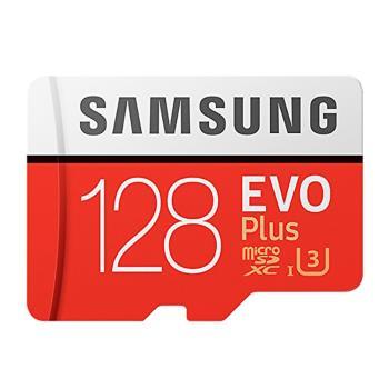 SAMSUNG三星 128G EVOPlus U3 microSDXC記憶卡 (平輸)