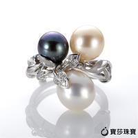 BaoSha【寳莎珠寶】DD 烟花綻18k珍珠戒指