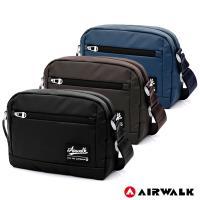 【AIRWALK】晶彩生活休閒側背包 - 共三色