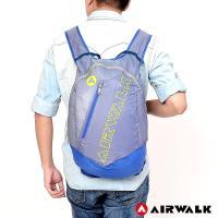 AIRWALK -超輕量半透後背包-螢黃