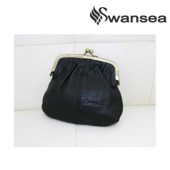swansea emmas系列牛皮框包-高貴黑