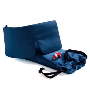 Sleep Master精品 睡眠用 藍色眼罩-豪華版