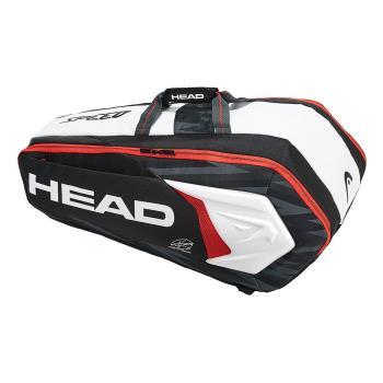 HEAD 球星簽名款 Djokovic Supercombi 羽球拍/網球拍/壁球拍9支裝球拍袋 283048