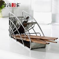 生活采家 台灣製#304不鏽鋼廚房筷子籃