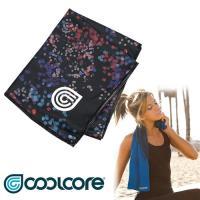 Cool Core 涼感運動巾 印花系列 Chill Sport  / 城市綠洲