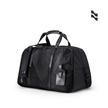 LOJEL URBO2 肩背/手提 底層鞋子收納 多功能旅行袋 行李袋 低調灰+紋路