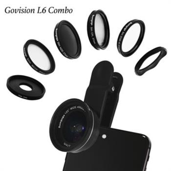 Bomgogo Govision L6 combo 極輕量廣角微距手機鏡頭組(37mm)