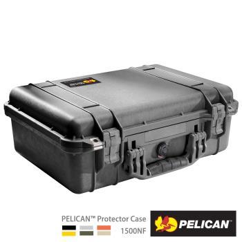 美國PELICAN1500NF氣密箱-空箱(黑)