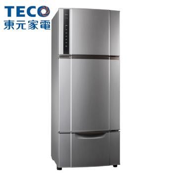 TECO東元543公升變頻三門冰箱R5552VXLH