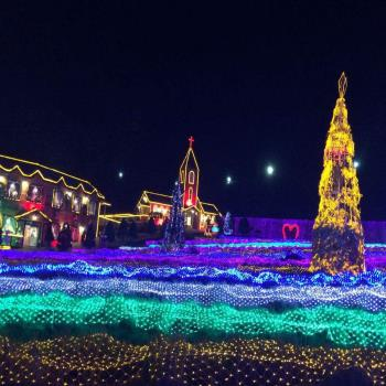 冬季韓國樂天冰上滑雪滑冰釣鱒魚燈光秀汗蒸幕6日旅遊