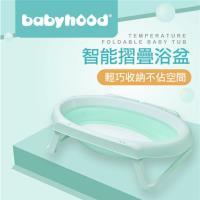 babyhood智能感溫摺疊浴盆-適合較大浴室