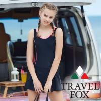 旅狐TRAVEL FOX 大女連身帶裙c18701