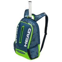 HEAD TOUR TEAM BACKPACK 1支裝球拍袋/後背包/運動休閒包-青綠 283148
