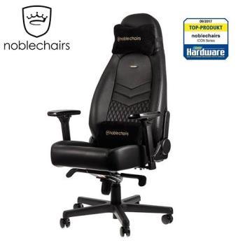 noblechairs 皇家ICON系列 電腦椅/辦公椅/電競超跑椅-PU尊爵款-黑