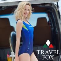 旅狐TRAVEL FOX 大女連身三角泳衣c18704