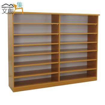 文創集-羅斯 環保5尺塑鋼開放式鞋櫃/玄關櫃-4色可選