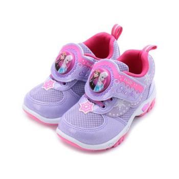 冰雪奇緣 冰雪奇緣電燈運動鞋 紫 FOKX74467 中大童鞋 鞋全家福
