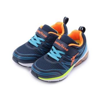 GOODYEAR TURBO AIR 氣墊運動鞋 藍 GAKR78226 中大童鞋 鞋全家福