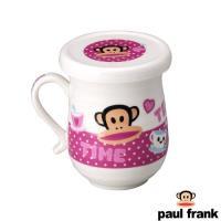 Paul Frank 環紋蓋杯-粉(PF80PL-2)