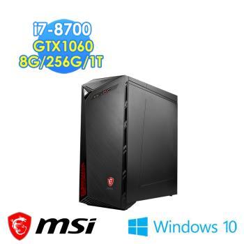 msi微星 Infinite 8RC-435TW i7-8700 GTX1060 WIN10 電競桌機