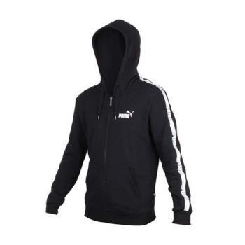 PUMA 男基本系列TAPE連帽外套-長袖外套 慢跑 路跑