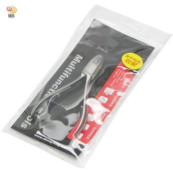 月陽台灣製造鷹嘴式全不銹鋼指甲刀腳指甲剪鉗剪腳皮(KS2801)