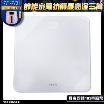 TECO東元LED魔術體重計XYFWT702