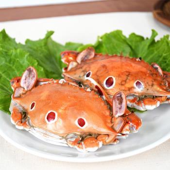 好神 極鮮活凍肥美三點蟹12-18隻組