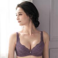 金華歌爾 寵愛英倫之戀 BC加大尺碼-DE 罩杯內衣(紫)