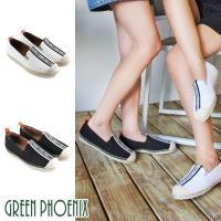 GREEN PHOENIX 國際精品字母織帶麻繩平底懶人鞋U28-2E102