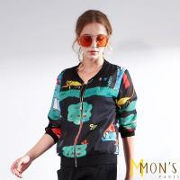 MONS個性時尚名品印花外套