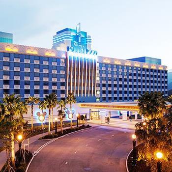 香港迪士尼樂園(2日門票).迪士尼好萊塢酒店自由行3日(四人一室-二大二小)旅遊