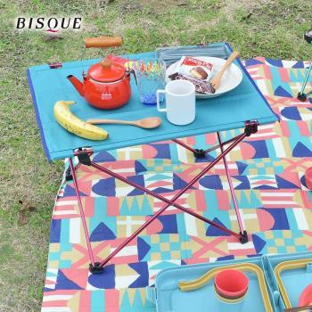 日本BISQUE 輕量摺疊野餐露營桌