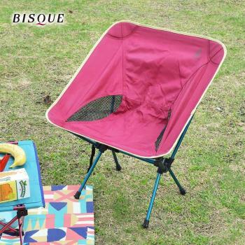 日本BISQUE 輕量耐重野餐露營椅