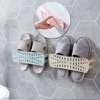 [ 居家樂 ] 可折疊黏貼牆面鞋架