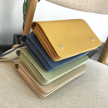 Acorn*橡果-韓版糖果色可拆式斜背包手拿包手機包6607(共四色)