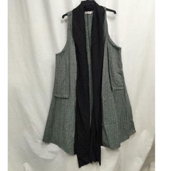 黛莉克絲 簡約時尚造型百搭長版罩衫