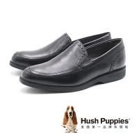 Hush Puppies Shepsky Slip-On百搭禮服鞋 男鞋-黑